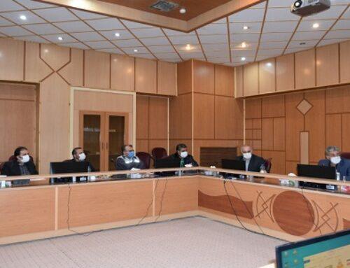 برگزاری جلسه در خصوص حمل و نقل جاده ای فرآورده های اصلی شرکت پالایش نفت شیراز